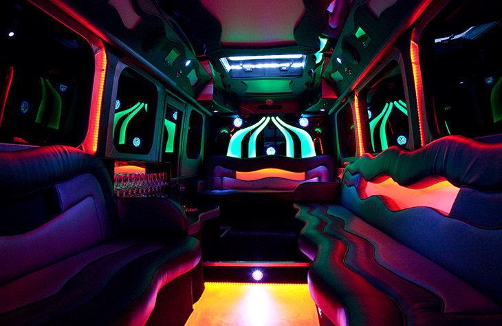 Party limo bus hire
